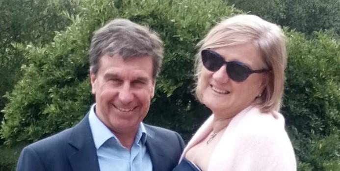 Alison and Gary robinson