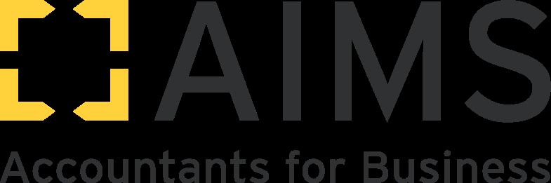 AIMS Black Logo